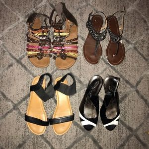 Defect Sandal and Heel Bundle